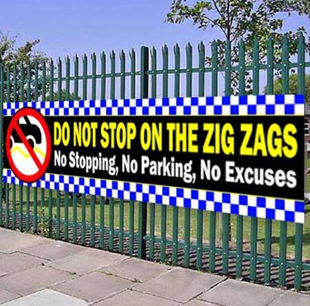 Pedestrian Crossing – Zig Zag Lines